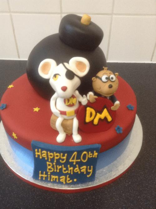 Danger Mouse Birthday Cake