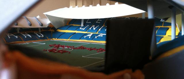 Elland Road Stadium Cake