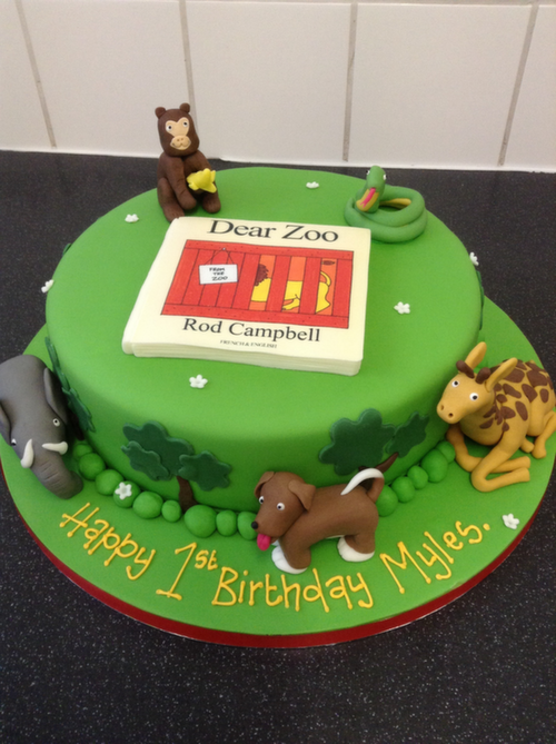 Images Of Cakes For Little Toddlers