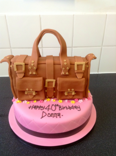Handbag Birthday Cake Pictures