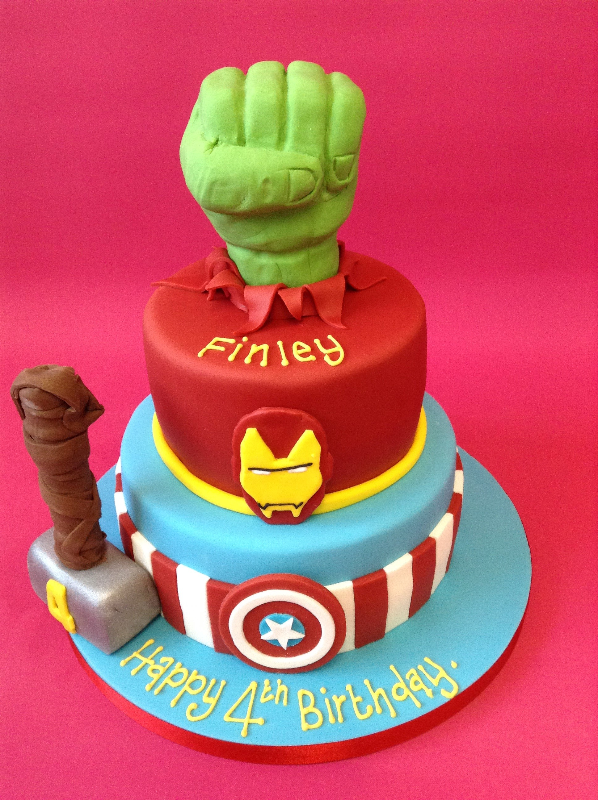 Marvel Cakes Uk