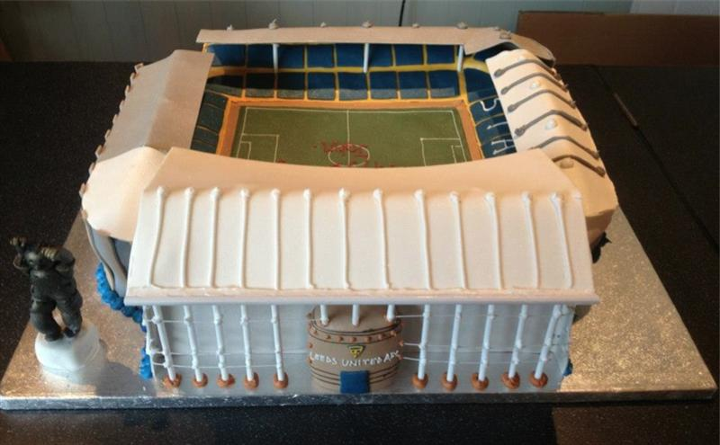Leeds United Cake Images