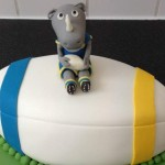 Leeds Rhinos Cake