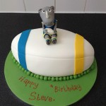 Leeds Rhinos Rugby Cake